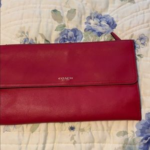 Large wallet/clutch. COACH